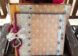 vintage wedding albums wedding guest book and photograph album indian inspired vintage