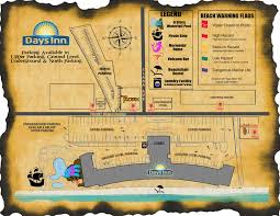 Panama City Beach Florida Map by Days Inn Map Days Inn Panama City Beach Florida