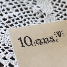 anniversaire mariage 10 ans 10 ans d amour spiritus naturae