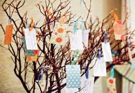 wishing tree cards creative decor ideas for presenting wedding wish trees unique