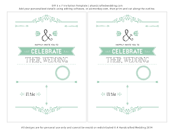 Wedding Invitation Card Free Download Marriage Invitation Card Format In Word Wedding Invitations