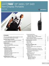 userguide motorola mototrbo dp3400 dp3401 source code digital