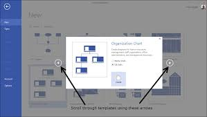 working with basic diagrams in microsoft visio 2013 making