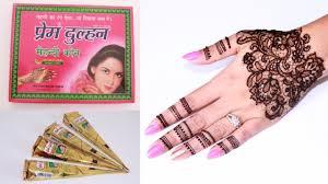 learn lace henna design step by step prem dulhan henna mehendi