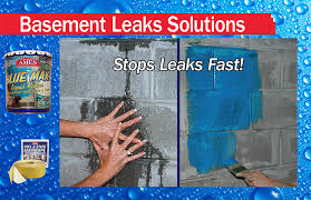 How To Stop Basement Leaks by Help Waterproof Your Basement With Ames Leak Seal