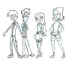 phineas and ferb in high by shaolinfan1 on deviantart