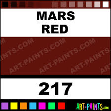 mars red artist oil paints 217 mars red paint mars red color