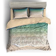bomcom summer holiday back to nature 3 piece duvet cover set