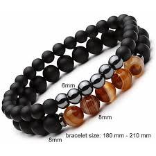 men beads bracelet images Darkside beaded bracelets 2pcs set 29 97 usd road to man jpg