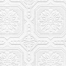 graham u0026 brown paintable 33 u0027 x 20 5 u0027 u0027 damask 3d embossed wallpaper