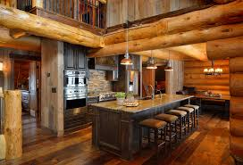 cabin kitchens ideas log cabin décor in timeless style the home decor ideas