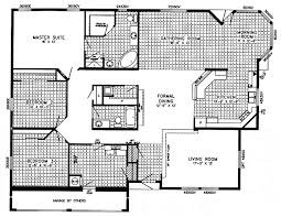 Triple Wide Floor Plans Triple Wide Mobile Homes Floor Plans Factory Homes