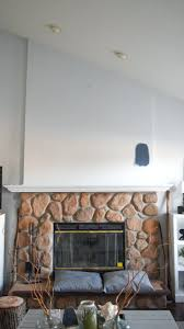 adding gas fireplace to house a cost wood plank feature wall