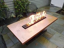 Gas Firepit Dining Table Square Pit Dining Table Gas Pit Dining