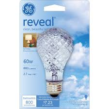 colored light bulbs lowes shop ge 60 watt dimmable color enhancing a19 halogen light fixture