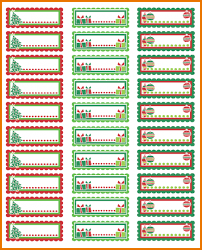 how to print avery labels in word christmas address labels 875 png