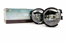 morimoto type x xb led fog light kit 2011 2014 wrx sti 2008