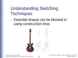 technical sketching chapter 3 2 technical drawing 13 th edition