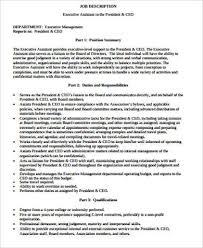 ceo job description best 25 executive resume template ideas only