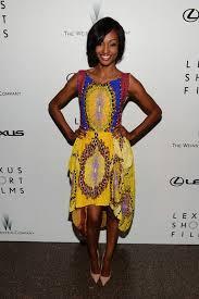 africa style now hollywood actress nichole galicia rocks nigerian