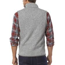 patagonia mens better sweater patagonia s better sweater fleece vest color stonewash