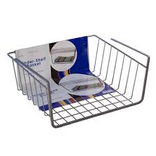 Revit Kitchen Cabinets Amazon Com Organized Living Under Shelf Basket White Home