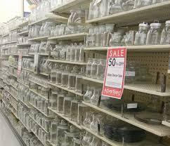 hobby lobby 50 glass jars through 5 3