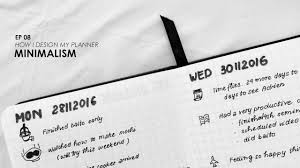 time design planner minimalism 08 how i design my planner cách thiết kế sổ tay
