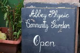abbey physic community garden faversham life