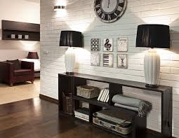 home wall decor ideas brick wall this has the feel of a space