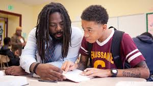 For At Risk Kids In Baltimore  Mentors Provide Far More Than Just     For At Risk Kids In Baltimore  Mentors Provide Far More Than Just Homework Help   NPR Ed   NPR