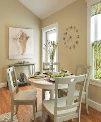 wall clock dining room contemporary with table setting console