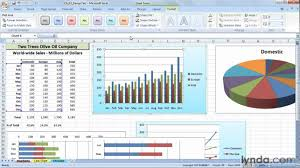Excel Chart Templates How To Create A Chart Template In Excel 2007 Lynda Com Tutorial