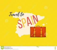 Espana Map Travel To Spain Concept Spanish Traveler Background Espana Map