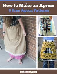 easy patchwork aprons allfreesewing how make apron free patterns