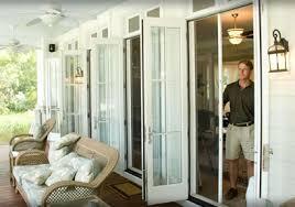 indianapolis retractble doors screens motorized patio screen