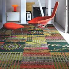 Carpet Tiles For Living Room by Fine Carpet Tiles In Homes Touch Quartz By Flor For Design Decorating
