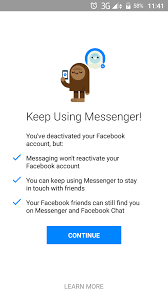 how to chat on facebook messenger even when your fb account is