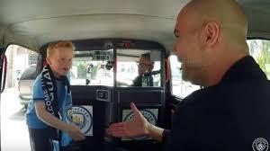 poi porti city guardiola incontra il piccolo fan ci porti messi