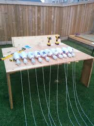 learn how to build a super cool backyard bowling alley