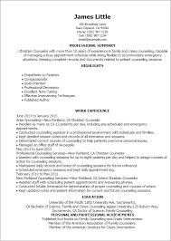 American Resume Examples by Professional Christian Counselor Templates To Showcase Your Talent