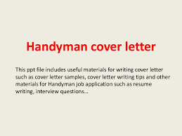 Handyman Description Sample Handyman Resume Resume Cv Cover by Handymancoverletter 140228011120 Phpapp01 Thumbnail 4 Jpg Cb U003d1393549904