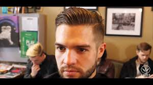 cool soccer hair big pompadour undercut mens haircut tutorial cool soccer player