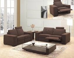 Microfiber Contemporary Sofa Sofa Modern Recliner Chair Ideas Awesome Contemporary Reclining