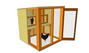 basic chicken house plans with easy to build chicken coop ideas
