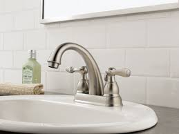 Polished Brass Bathroom Fixtures by Faucet Com B2596lf Pb In Polished Brass By Delta