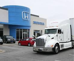 truck honda honda puts hybrid diesel electric transport truck into service