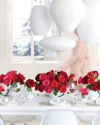 red and white table decorations for a wedding 23 ways to arrange red wedding centerpieces martha stewart weddings