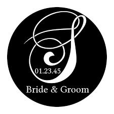 Wedding Gobo Templates Rosco Steel Wedding Gobo 033 Surname Monogram Stage Lighting Store