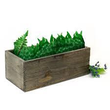 blog a house for your garden wooden box vases and garden